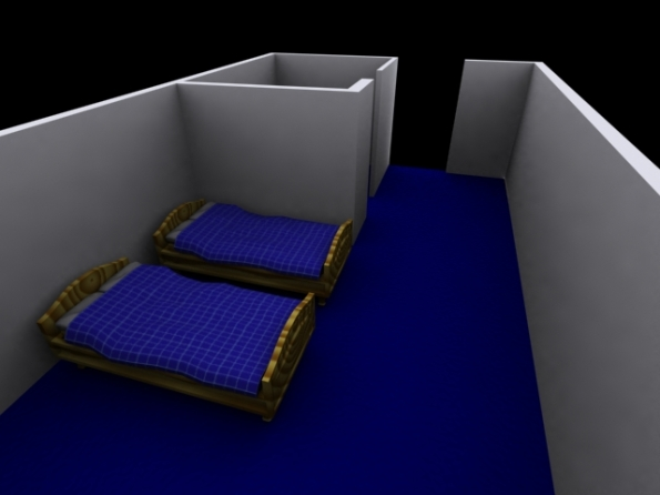 My beds in my Test Room
